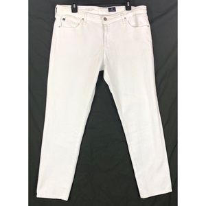 AG Jeans The Prima Cigarette Leg White  7924